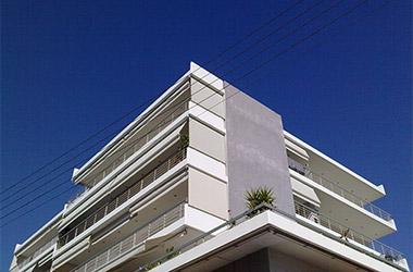 2008: Four-story apartment building with basement, 102 Agias Sofias Street - Vyronas