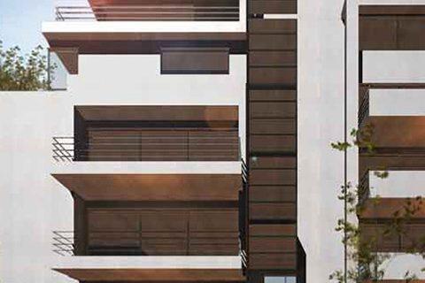 2011: Τετραόροφη πολυκατοικία στην οδό Χελμού-Ήβης-Θρασυβούλου, Χαλάνδρι